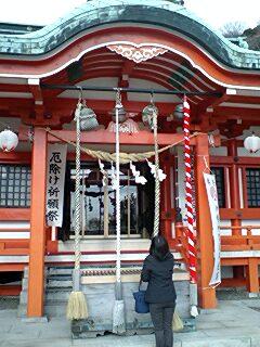 鹿島神社@小名浜